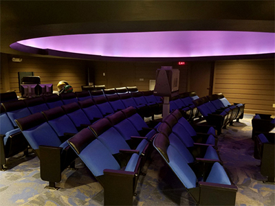 Planetarium theater