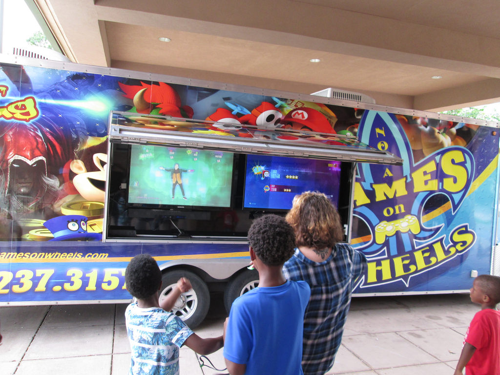 St. Rose Video Game Truck